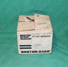 Boston Gear, F7107.5KB4G6, Speed Reducer NEW
