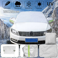 59'' X 104'' Car Windshield Snow Ice Rain Dust Frost Protector W/ Mirror  *