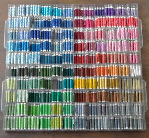 Amann VINTAGE!  Näh-Seide MATADOR 40/3 Meter Sewing thread silk