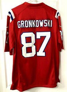 ROB GRONKOWSKI NIKE On Field Mens Sz Medium 87 New England Patriots Jersey NFL
