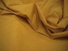 Mustard Polycotton Plain Bunting Craft Dress Fabric 112cm Wide SOLD BY THE METRE