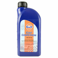 Gulf Competition 5w-40 racing engine oil (5w40) - 1 Litre