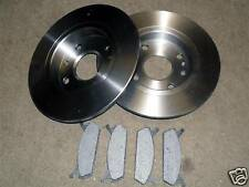 Rear brake disc & pad set Mazda MX5 mk1 1.6 Eunos, MX-5, NA, 231mm discs 4x pads