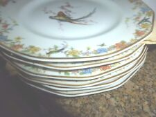 ARCADIA Birds SALAD PLATE  THEODORE HAVILAND LIMOGES FRANCE