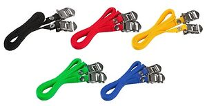 ACCENT Quality Road Bicycle, Fixie, Fixed Gear Bike Pedal Toe Clip Straps