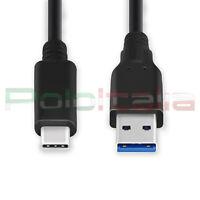 Cavo 1,8m USB 3.1 type C tipo 3.0 carica batteria per Sony Huawei 6P nova P9 P10