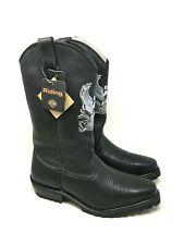 NIB Harley Davidson Men's Hondo Western Eagle Pull On Boots #95260 Size:8.5