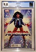 AMERICA #2 Variant 1:50 ADAMS Cover CGC 9.8🔥HTF Vengeance Ultimates ll hip hop