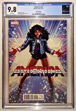 AMERICA #2 Variant 1:50 ADAMS Cvr CGC 9.8🔥RARE Vengeance Ultimates Dr Strange 2