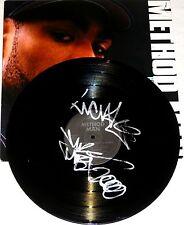 METHOD MAN WU-TANG CLAN HAND SIGNED AUTOGRAPHED VINYL RECORD ALBUM! RARE! W/COA!
