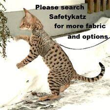 SafetyKatz Walking Jacket Cat Harness2 Reversable Collar Safety Cat Harness Vest