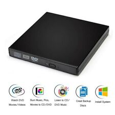 COMBO USB 2.0 DVD CD RW Drive External Burner Writer Rewriter for Laptop Desktop