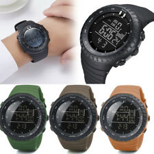 Fashion LED Digital Date Alarm Backlight Silicone Band Swimming Sport Mens Watch