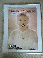 MARILYN MONROE CALENDAR 1993 ORIGINAL VINTAGE 26+ YEAR OLD RARITY VALUABLE GEM