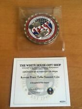 Trump Coin Kim Jong Un Peace Summit White House Coin Unopened, Numbered