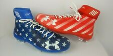 Under Armour Bryce Harper Mens Baseball Cleats Size 15 4th Of July American Flag