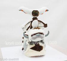 Set 3pc Nickelodeon Avatar The Last Airbender APPA Momo Plush Toy Hat