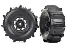 Traxxas Assembled Paddle Tires/Desert Racer Wheels TRA8475