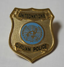 police pin united nations un civpol civilian police