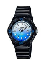 Casio Watch * LRW200H-2E Diver Look 100WR Black w/ Blue for Women COD PayPal