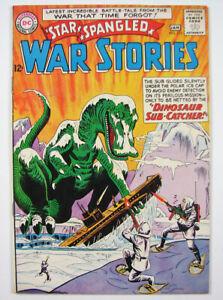 Star Spangled War Stories Silver Age Comic Book #112 1963-64 DC Nice! Dinosaur