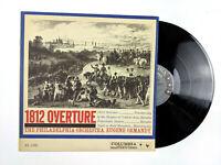 1812 Overture Tchaikovsky Philadephia Orchestra Eugene Ormandy Vinyl LP