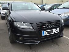 2008 AUDI A4 2.0 TDI SE S-LINE BADGED AND BUMPERS, FABULOUS LOOKING EXAMPLE,