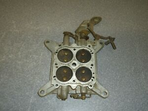 Holley 4-barrel Carburetor Carb Baseplate 2818 1964 Chevy Chevrolet Corvette 327