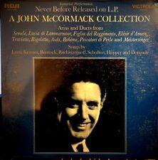 SEALED John McCormack LP – A John McCormack Collection - RCA VIC-1393, 1969