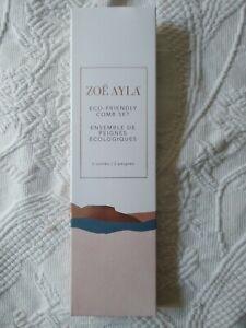 Zoë Ayla® Eco-Friendly 2 Comb Set - NIB - Sealed