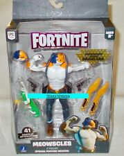 MEOWSCLES Fortnite Legendary Series BRAWLERS FIGURE & Weapons ARTICULATED 2021