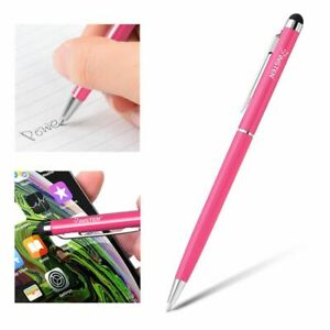 Capacitive Stylus Touch Screen LCD 2in1 Ballpoint Pen for iPad Tablet Drawing