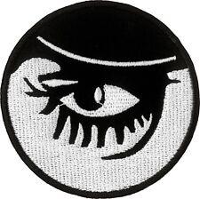 19638 Clockwork Orange Droog Eye Movie Kubrick Embroidered Sew Iron On Patch