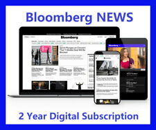 Bloomberg News 2-Year Digital Subscription All Platforms Worldwide Region Free