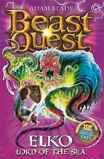 Beast Quest: Elko : Lord of the Sea 61 by Adam Blade (2014, Paperback)