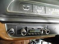 Radio & Fascia suit VH VJ VK CL CM Valiant, 200Watt AM/FM