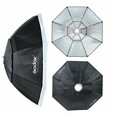 "Godox Octagon Umbrella Softbox 47"" 120cm Bowens Mount for Studio Strobe Flash"