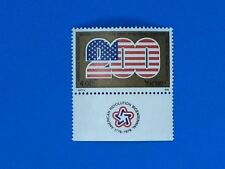 ISRAEL #598 AMERICAN BICENTENNIAL 200 US Flag with Tab- Mint Never Hinged