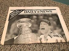 New York Rangers Daily News Newspaper From Stanley Cup Win 1994