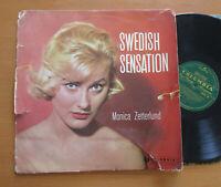 33CSX 20 Monica Zetterlund Swedish Sensation 1958 Columbia LP feat. Donald Byrd