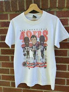 San Francisco 49ers Vintage 1987 Caricature NFL Football Team Shirt Funny gift