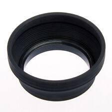 Pare-soleil Caoutchouc Silicone pour Objectif Photo Standard diamètre 58mm