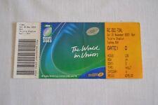 Billete final 2003 Copa Mundial de Rugby Inglaterra v Australia V. Buenas Condiciones