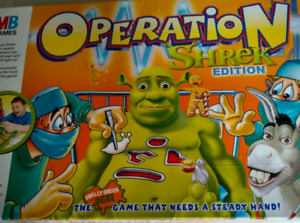 Shrek Operation Replacement / Spare Parts Pieces Hasbro 2004