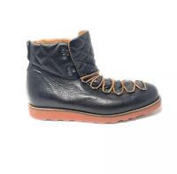 Rare OPENING CEREMONY Ignacio 1 Suede Leather Hiking Boots Men Black Eu 46 Us 12