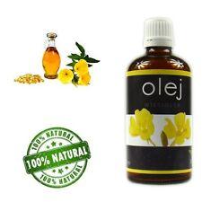 100% Evening Primrose NATURAL PURE OIL100 ml/Olej z Wiesiołka zimnotłoczony