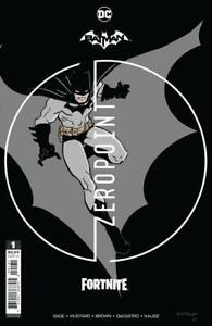 Batman Fortnite Zeropoint #1 Donald Mustard Premium Variant Sealed with code nm