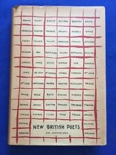 NEW BRITISH POETS - FIRST AMERICAN EDITION REVIEW COPY EDITED BY KENNETH REXROTH