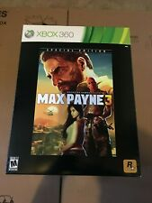 Max Payne 3: Special Collectors Edition Xbox 360 Brand New Factory Sealed!