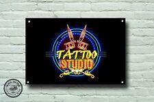 TATTOO STUDIO METAL SIGN,TATTOOIST, TATTOO METAL SIGN, 950